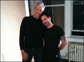 Robert Duffy e Marc Jacobs