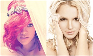 Rihanna e Britney Spears
