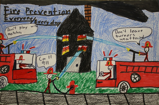 fire school essay Fire prevention week (oct 6-12) is a great time to review fire safety facts with students across the grades hold a school-wide fire safety poster contest.