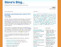 My Blog - August 2010
