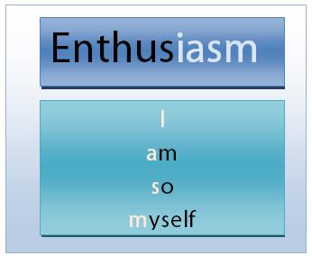 enthusiasm acronym
