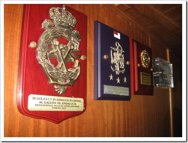 insignia on the ship