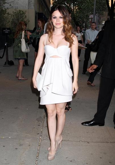 Rachel Bilson na premiere de Wait For Forever em NY