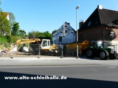 Abbruch Husumer Baum Nr.7 Schleswig
