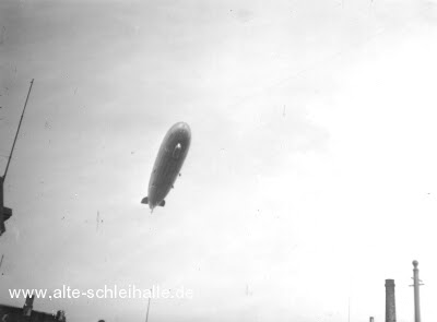 Luftschiff LZ 126 über Schleswig 1924