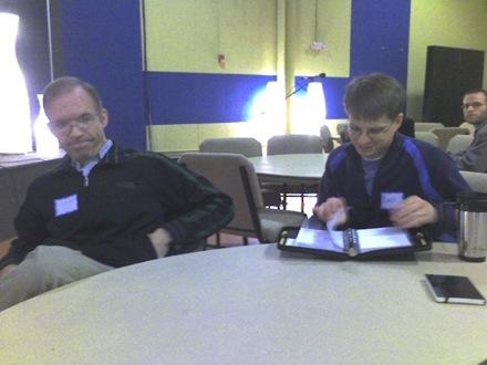 Mike Hall and Blake Hickman