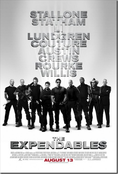 the expendables 2010 poster