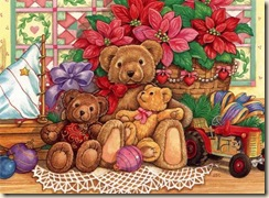teddybears-christmas-brown-cute
