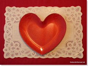 Valentine place setting-1