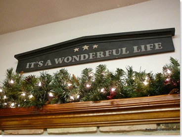 It's a Wonderful Life Mantle