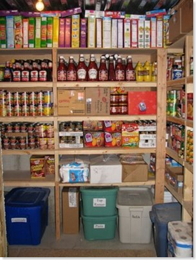 food storage shelves 2