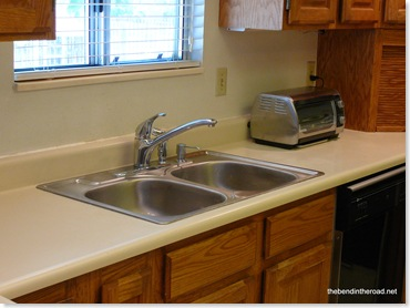 After, new sink finally installed!