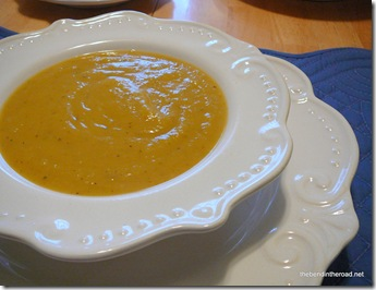 Autumn Butternut Soup 2