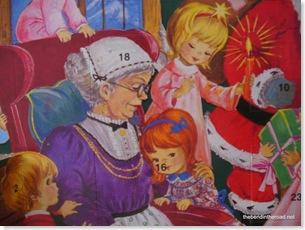 A calendar with an Oma