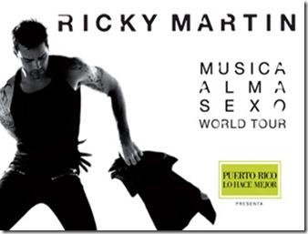 Ricky martin en Mexico 2011