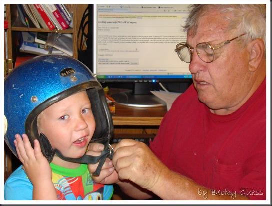10-11-10 Try on helmet 3
