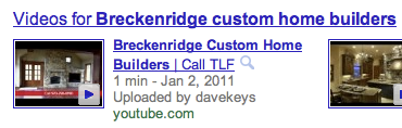 breckenridge custom homes video by Dave Keys