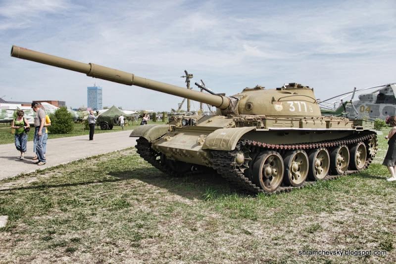 Russian Soviet Tank T-62 Русский Советский Танк Т-62 Технический Музей Тольятти