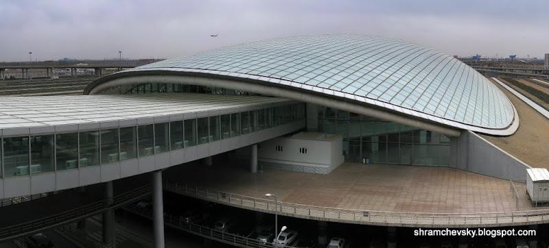 Beijing Capital International Airport Terminal 3 Transportation Center Пекинский Столичный Международный Аэропорт Терминал 3