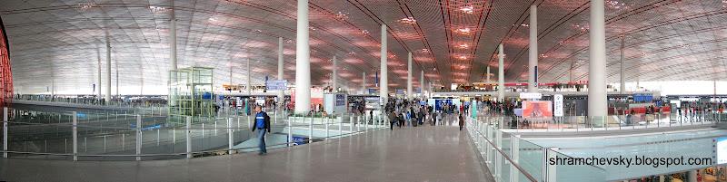 Терминал 3 Аэропорт Пекин Столичный