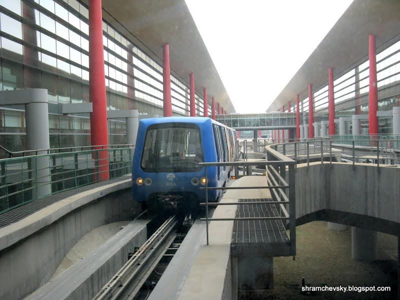 Аэропорт Пекин Столичный Терминал 3 Монорельс