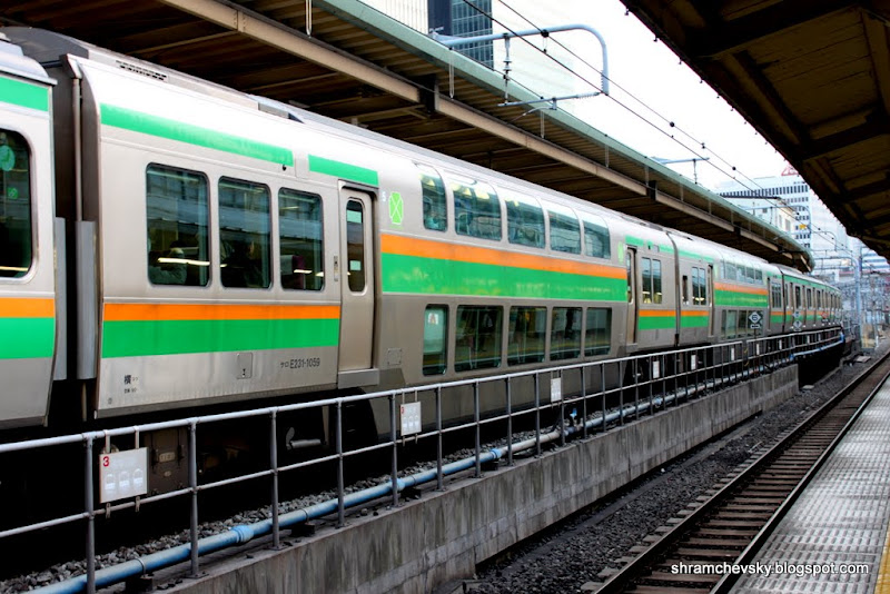 Tokyo Metro JR Line Train DoubleDecker Car Токио Метро Поезд Джей Ар двухэтажный вагон