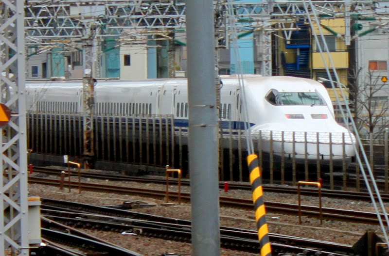 Япония Токио Синкансен Шинкансен Серия 700 Japan Tokyo Shinkansen 700 series