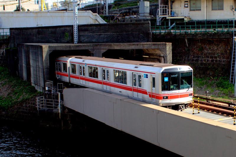Япония Токио Метро Электричка Поезд Odakyu