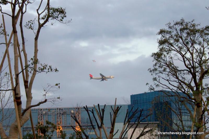 Japan Tokyo Odaiba Haneda Airport Spotting Aircraft JAL Япония Токио Одайба Ханеда Аэропорт Споттинг Самолёт Японские Авиалинии