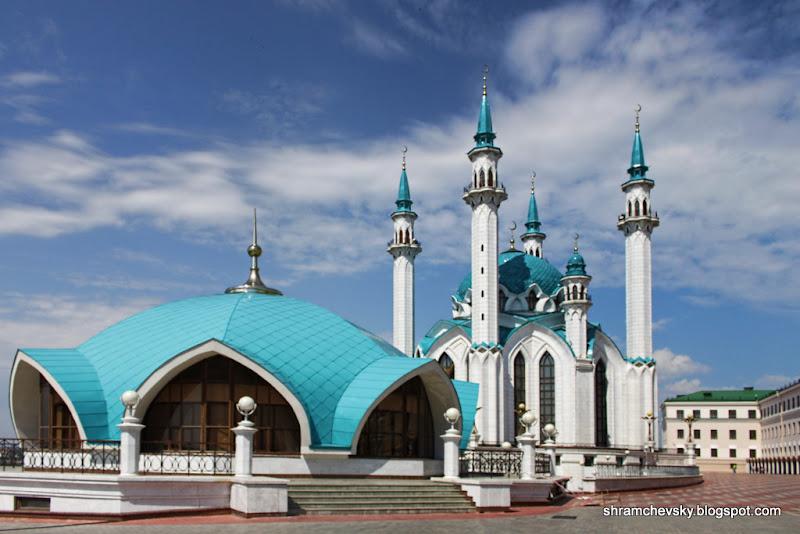 Russia Tatarstan Kazan Kremlin Qolsharif Mosque Россия Татарстан Казань Кремль Мечеть Кул Шариф