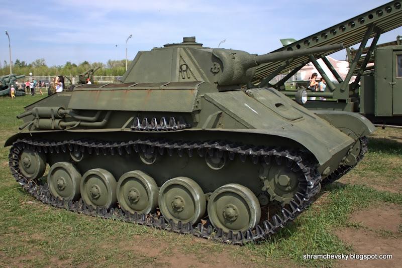Russian Soviet Tank T-70 T70 Русский Советский Танк Т-70 Т70 Технический Музей Тольятти