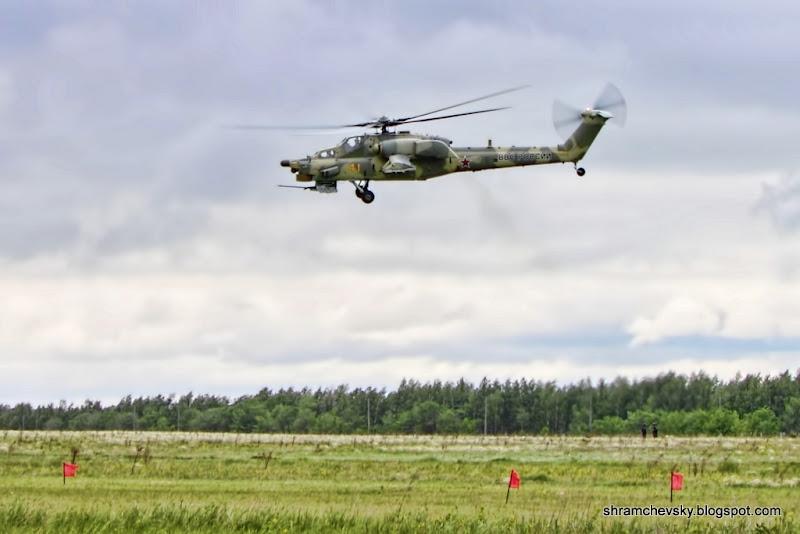 Миль Ми-28 Ночной Охотник Вертолет Сызрань