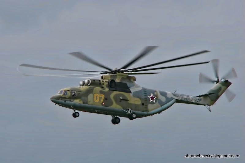 Миль Ми-26 Вертолет Грузовой Огромный