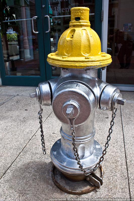 США Атланта Пожарный Гидрант