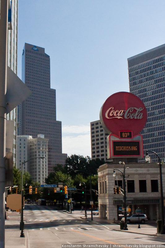 США Атланта Неоновый Знак Кока Кола