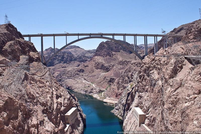 Трансформеры Мегатрон США Невада Дамба Гувера ГЭС Колорадо река