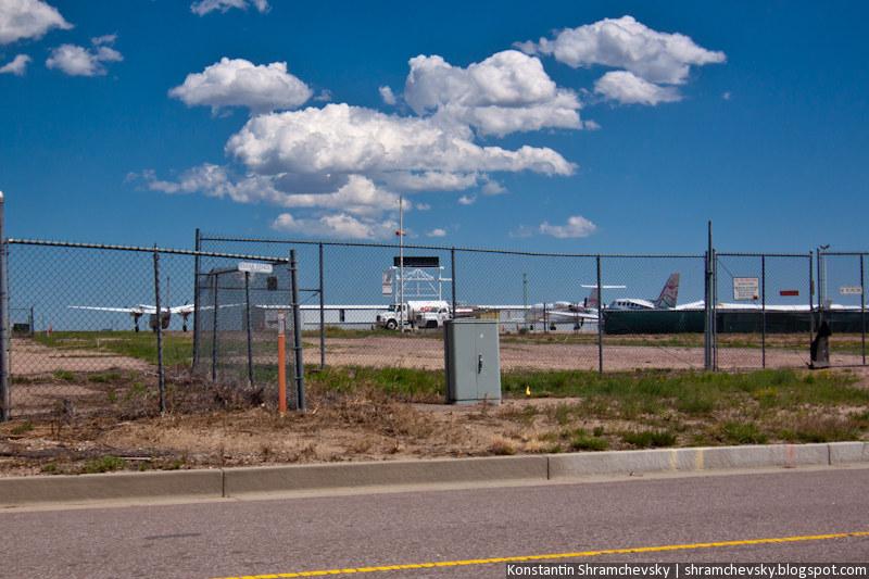 Peterson Air Force Base Colorado Springs USA United States Of America Авиабаза Петерсон Аэродром Аэропорт Колорадо Спрингс США Соединенные Штаты Америки
