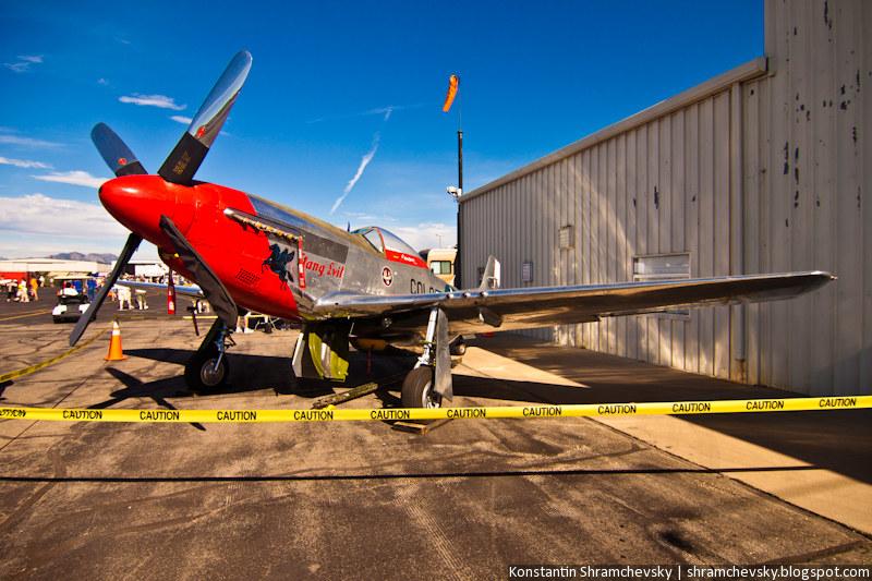 USA Colorado Airshow P-51 Mustang Fighter aircraft WWII П-51 Мустанг Американский Самолёт Истребитель Вторая Мировая Война