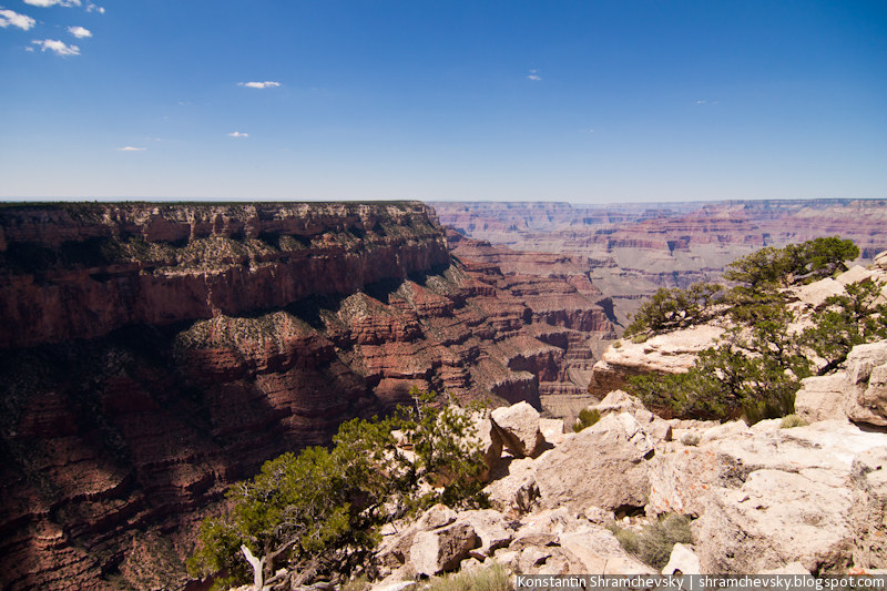 USA Arizona Grand Canyon Rocks США Аризона Гранд Каньон Скалы