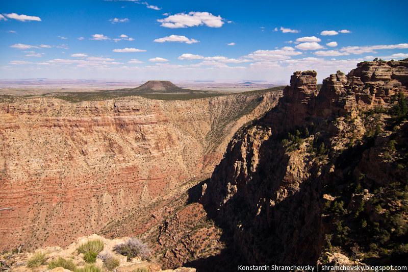USA Arizona Grand Canyon Rocks Mesa США Аризона Гранд Каньон Скалы Столовая Гора Меса
