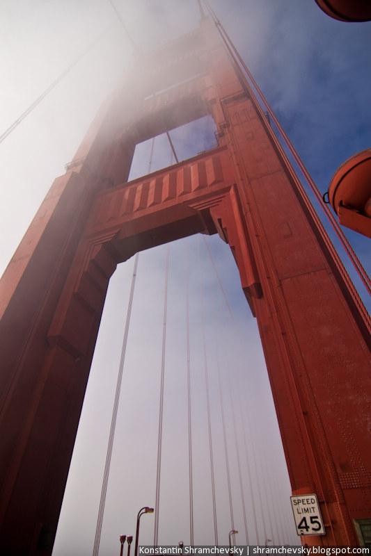 USA California San Francisco Golden Gate Bridge США Калифорния Сан Франциско Голден Гейт Бридж Мост Золотые Ворота