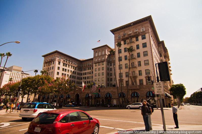 USA California Los Angeles Beverly Hills Regent Beverly Wilshire США Калифорния Лос Анджелес Беверли Хиллз
