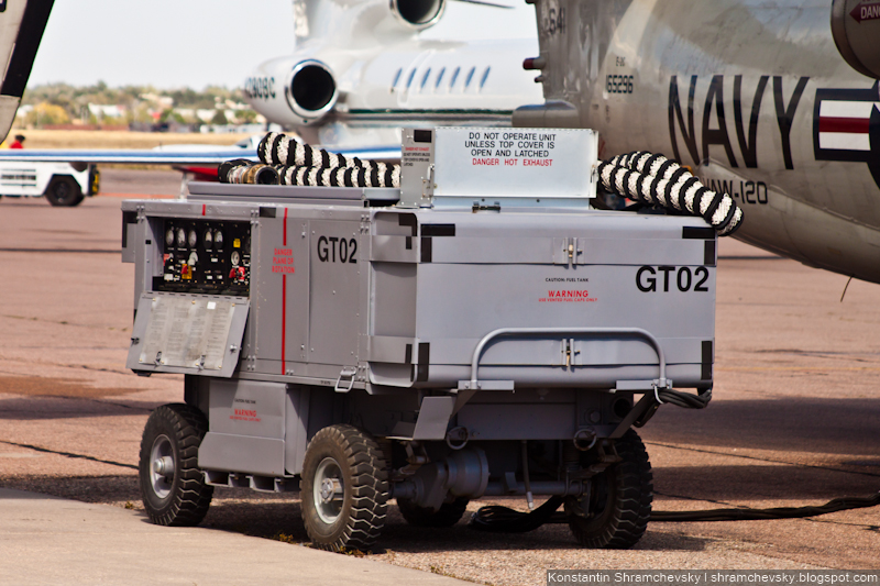 USA AF Air Force Grumman E-2 Hawkeye США ВВС Грумман E-2 Хокай
