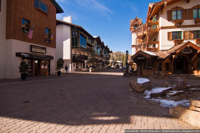USA Colorado Rocky Mountains Vail Ski Resort США Колорадо Вэйл Горы Лыжный Курорт