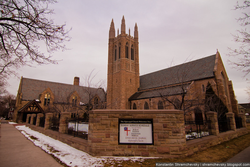 USA Colorado Springs Episcopal Church США Колорадо Спрингс Епископская Церковь