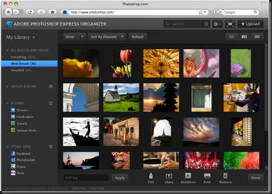 Photoshop Express Organizer