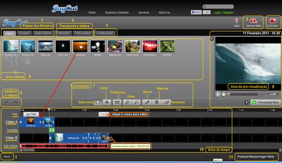 JayCut 2 - O Editor