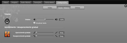 JayCut 15 Configurações Audio