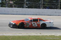 #8 John Bickle at Sunset Speedway, July 4, 2009