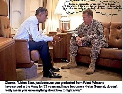obama mccrystal